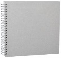 Base Line Canevas Wire-O Beige 30x30 cm (50 pages blanches / 25 feuilles)