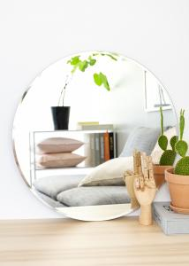 KAILA Miroir rond Deluxe 60 cm Ø