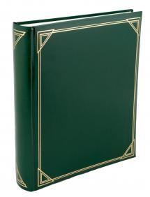 Henzo Promo Album Vert - 29x33 cm (100 pages blanches / 50 feuilles)