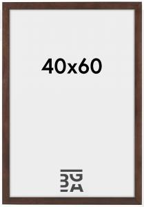 Cadre Stilren Verre Acrylique Noyer 40x60 cm