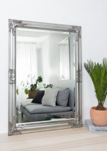 Miroir Bologna Argent 60x90 cm