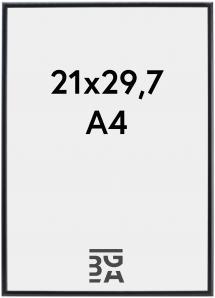 Cadre Visby Verre Acrylique Noir 21x29,7 cm (A4)