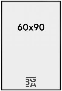 Cadre New Lifestyle Verre Acrylique Noir 60x90 cm