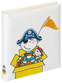 Album enfant Pirate Maternelle - 28x30,5 cm (50 pages blanches / 25 feuilles)