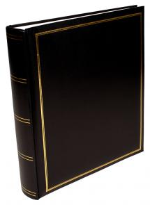 Exclusive Line Maxi Album Noir 30x33 cm (100 pages blanches / 50 feuilles)