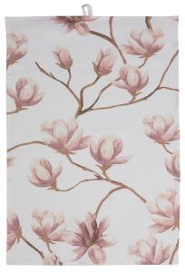 Torchon de cuisine Magnolia - Rose