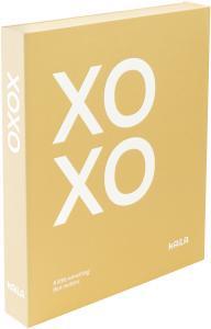 KAILA XOXO Yellow - Coffee Table Photo Album (60 Pages Noires / 30 Feuilles)