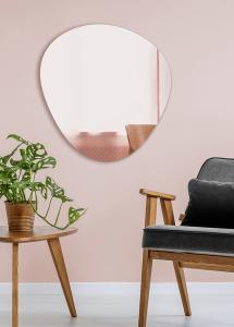 Miroir Shape Rose Gold 68x70 cm
