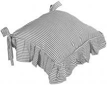 Coussin de chaise Oskar - Gris 42x42 cm