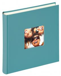 Fun Album Turquoise - 30x30 cm (100 pages blanches / 50 feuilles)