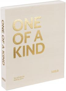KAILA ONE OF A KIND Creme - Coffee Table Photo Album (60 Pages Noires)