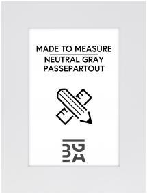 Passe-partout Neutral Grey - Sur mesure