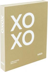 KAILA XOXO Vanilla - Coffee Table Photo Album (60 Pages Noires / 30 Feuilles)