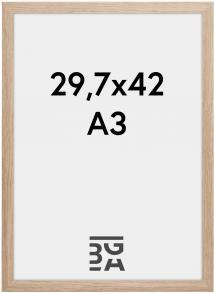 Cadre Stilren Verre Acrylique Chêne 29,7x42 cm (A3)
