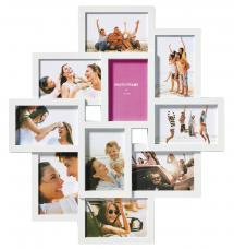 Timeless Cadre collage Blanc - 10 images