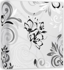 Umbria Blanc - 31x32 cm (50 pages blanches / 25 feuilles)