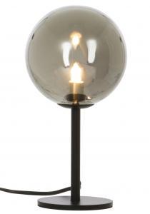 Lampe de table Molekyl 1 - Noir/Fumée