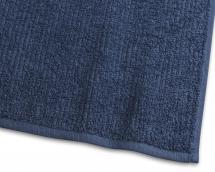 Essuie-main Stripe Éponge - Bleu marine 50x70 cm