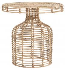 Table d'appoint Nature 46x46 cm - Rotin