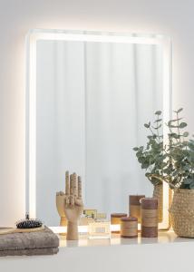 KAILA Miroir Soft Edges II LED 60x80 cm