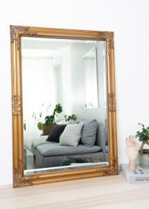 Miroir Bologna Or 60x90 cm