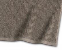Serviette d'invité Stripe Éponge - Brun 30x50 cm