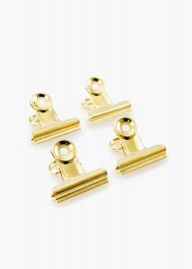 KAILA Poster Clip Gold 40 mm - 4-p