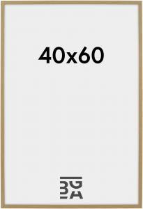 Cadre Galant Verre Acrylique Chêne 40x60 cm