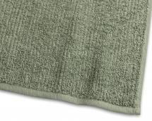 Serviette d'invité Stripe Éponge - Vert 30x50 cm