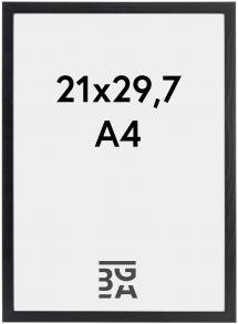 Cadre Galant Verre Acrylique Noir 21x29,7 cm (A4)