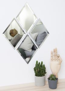 Miroir House Doctor Diamond Clair 16x22 cm