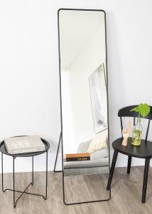 Miroir sur pied House Doctor Chic Noir 45x175 cm