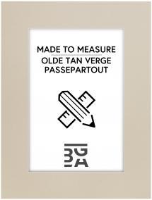 Passe-partout Olde Tan Verge - Sur mesure