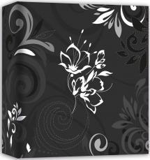 Umbria Noir - 31x32 cm (50 pages blanches / 25 feuilles)