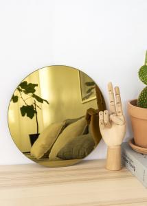 KAILA Miroir rond Gold 30 cm Ø