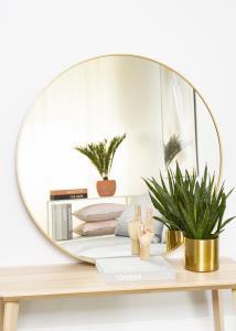 KAILA Miroir rond Edge Gold 100 cm Ø