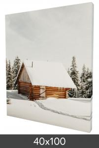 Tableau sur toile 40x100 cm - 18 mm