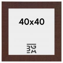 Cadre Home Noyer 40x40 cm