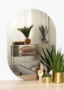 KAILA Miroir Oval Dark Bronze 70x100 cm